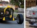 6 Cool Custom Cars Made of Stuff – Lego car, Ice car…