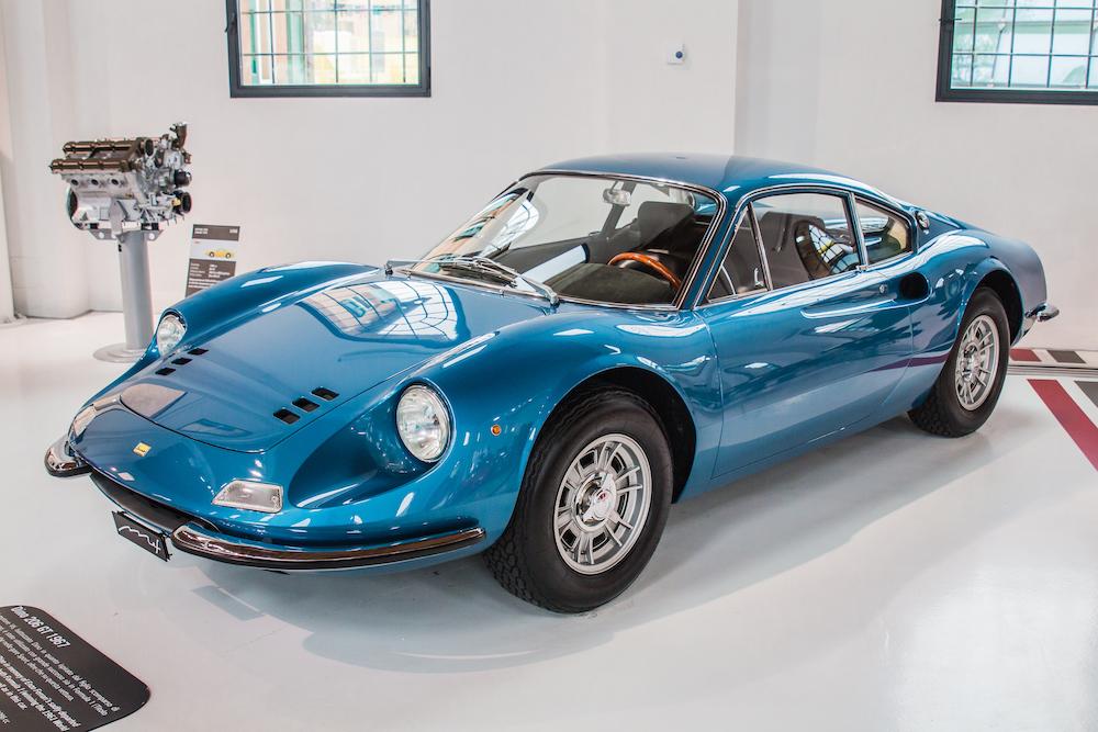Eric Clapton Cars Ferrari Dino