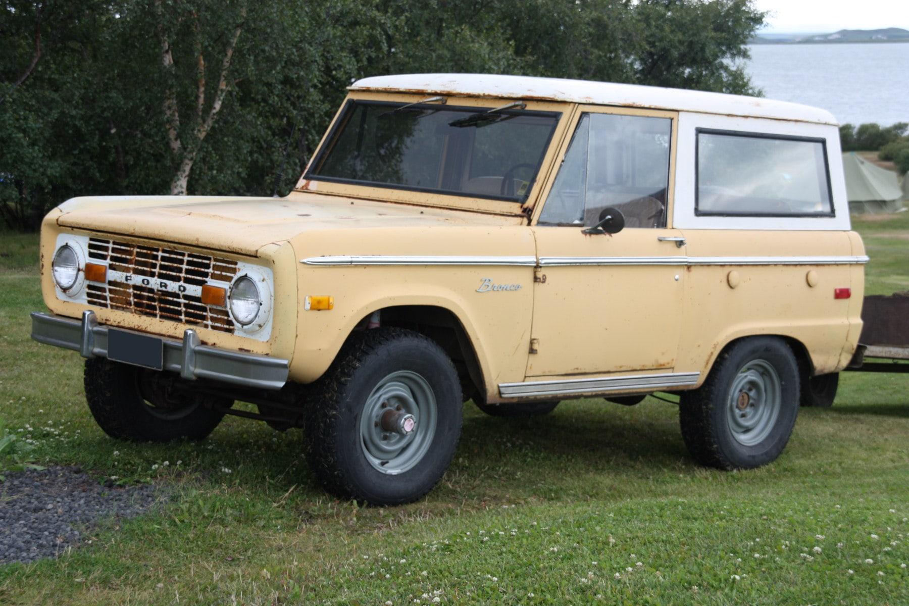 1st Generation Bronco -- Photo Credit: Wikipedia