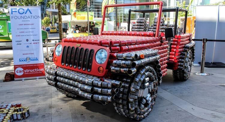 The Real Tin Can Car