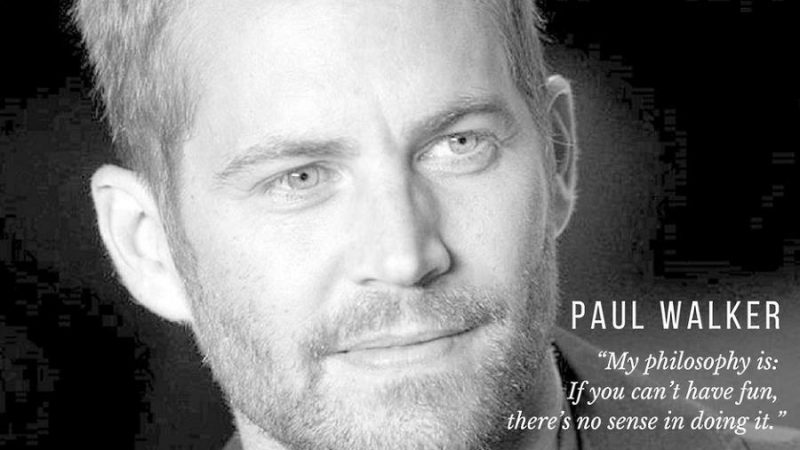 Fast And Furious Brian Oconnor Quotes Quotesgram: Paul Walker Quotes & Facts