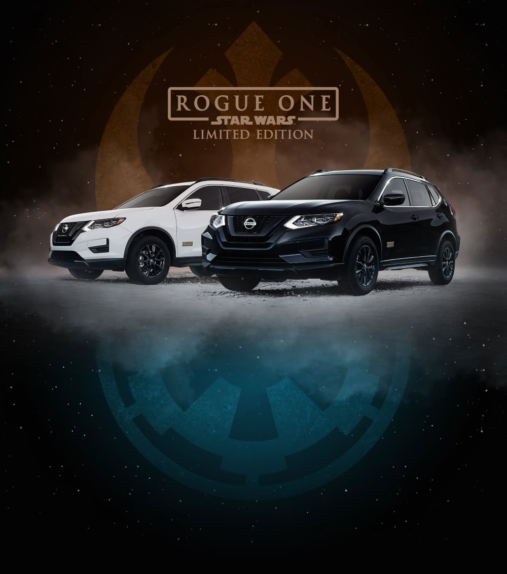 The Limited Edition Star Wars Car: The 2017 Nissan Rogue