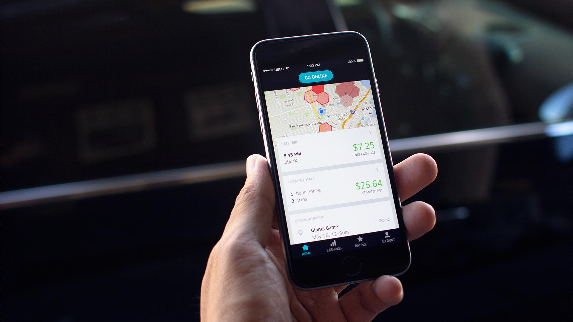 Uber Driver Partner App