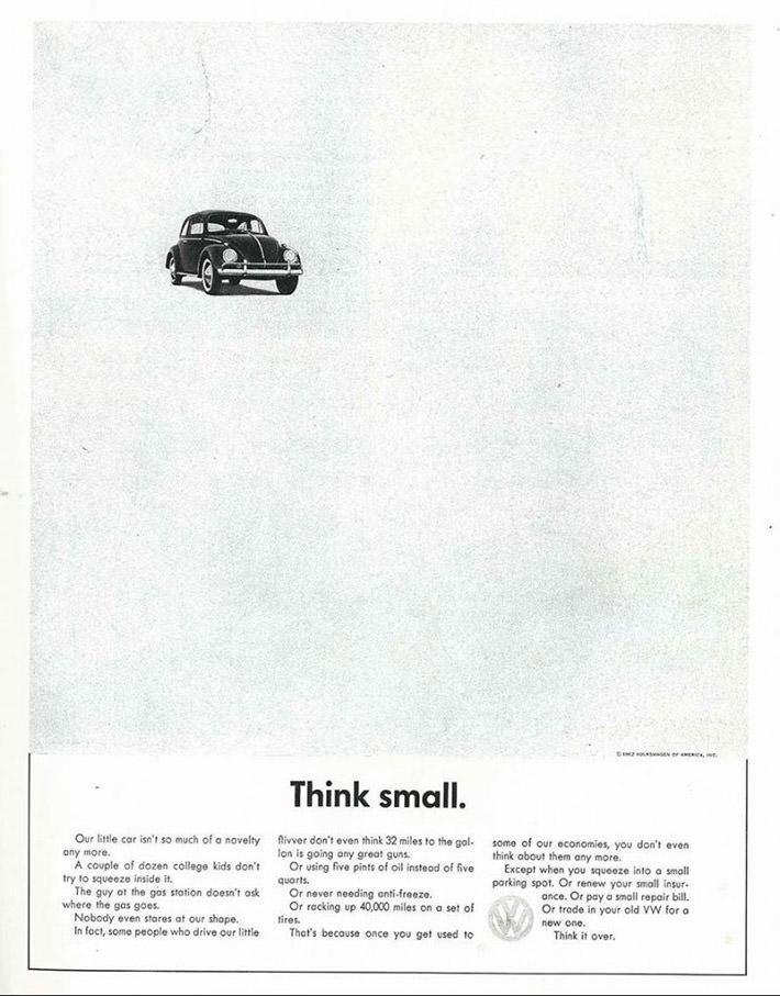 best car ads - volkswagen beetle